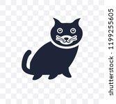 kitten transparent icon. kitten ... | Shutterstock .eps vector #1199255605