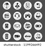 home appliances web icons... | Shutterstock .eps vector #1199266492