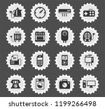 home appliances web icons... | Shutterstock .eps vector #1199266498