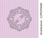 bandage plaster icon inside... | Shutterstock .eps vector #1199294068
