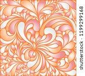 silk texture fluid shapes ... | Shutterstock .eps vector #1199299168