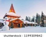 rovaniemi  finland   march 5 ... | Shutterstock . vector #1199309842