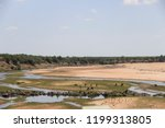 panorama and wildlife on the... | Shutterstock . vector #1199313805