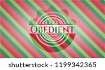 obedient christmas colors style ... | Shutterstock .eps vector #1199342365