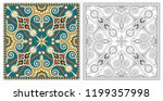 coloring pages  coloring book... | Shutterstock .eps vector #1199357998