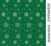 christmas seamless pattern with ... | Shutterstock .eps vector #1199366518