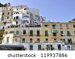 old buildings in amalfi  italy | Shutterstock . vector #119937886