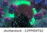2d illustration. abstract...   Shutterstock . vector #1199404762