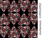 flowers pattern  flowers print  ... | Shutterstock . vector #1199412952