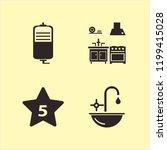 counter icon. counter vector... | Shutterstock .eps vector #1199415028