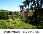 nov  hrady castle in rococo... | Shutterstock . vector #1199440738