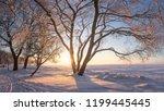 Winter Landscape At Sunrise....