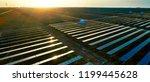 solar photovoltaic panels in... | Shutterstock . vector #1199445628