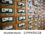 cabinet with catalogs in the...   Shutterstock . vector #1199450128