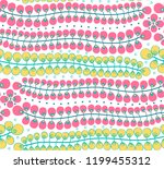 cute seamless background of...   Shutterstock .eps vector #1199455312