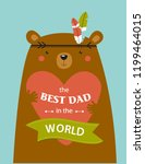 """vector poster with bear """"the... 