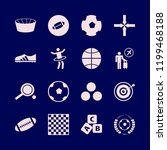 play icon. play vector icons...   Shutterstock .eps vector #1199468188