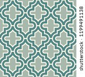 oriental traditional pattern.... | Shutterstock .eps vector #1199491138