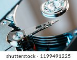 Disassembled Hard Drive From...