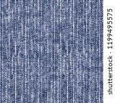 indigo dyed effect grain stroke ... | Shutterstock . vector #1199495575