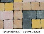 brick worm textures background | Shutterstock . vector #1199505235