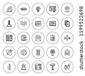 contemporary icon set....