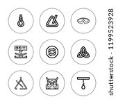 infinity icon set. collection...   Shutterstock .eps vector #1199523928