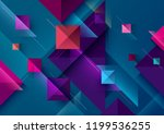 abstract  geometric background | Shutterstock .eps vector #1199536255