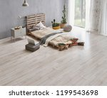 bed room and wood detail style... | Shutterstock . vector #1199543698