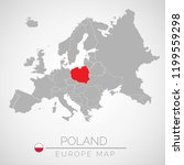 map of european union with the...   Shutterstock .eps vector #1199559298