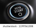 3d illustration start 2019 | Shutterstock . vector #1199561308
