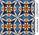 geometric seamless pattern.... | Shutterstock .eps vector #1199563765