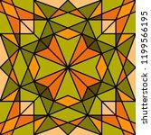 geometric seamless pattern.... | Shutterstock .eps vector #1199566195