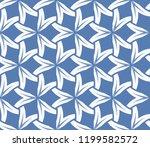 simple modern seamless... | Shutterstock .eps vector #1199582572