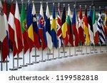 brussels  belgium oct. 10  2018.... | Shutterstock . vector #1199582818