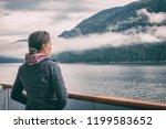 alaska inside passage cruise... | Shutterstock . vector #1199583652