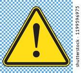 danger sign  danger icon ... | Shutterstock .eps vector #1199596975