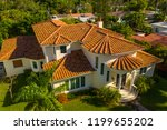 Aerial Drone Image Of A Luxury...