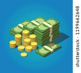 Vector Isometric Money Concept...