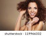beauty portrait of handsome... | Shutterstock . vector #119966332