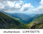 panorama view with a mountain... | Shutterstock . vector #1199700775