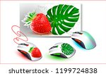 vector computer mouse and mouse ...   Shutterstock .eps vector #1199724838