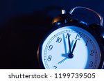 five minutes to midnight.... | Shutterstock . vector #1199739505