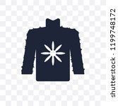 fleece transparent icon. fleece ... | Shutterstock .eps vector #1199748172