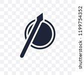 spear transparent icon. spear... | Shutterstock .eps vector #1199754352