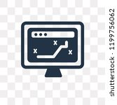 tactical vector icon isolated... | Shutterstock .eps vector #1199756062