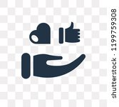 reaction vector icon isolated... | Shutterstock .eps vector #1199759308