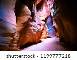 Female Hiker In Colorful Slot...