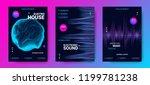 electronic music festival... | Shutterstock .eps vector #1199781238