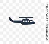 Military Helicopter Vector Ico...